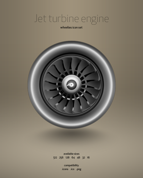 Jet Engine Turbine by hbielen