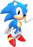 Classic Sonic Render by JaysonJeanChannel