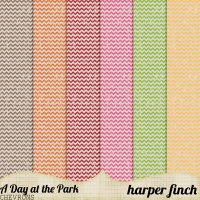 A Day at the Park Chevron by harperfinch