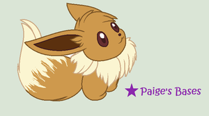 Eevee Card Base by Paige-the-unicorn