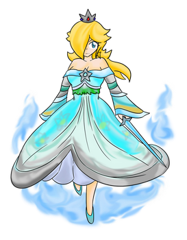 Rosalina: Lady of Blue Fire by Xero-J