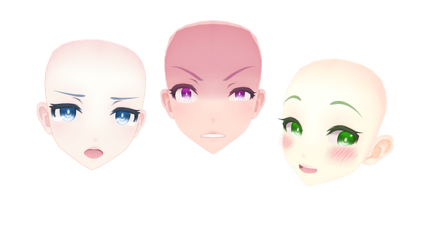 ||MMD|| TDA Face Edits DOWNLOAD by x-MomoJuice-x