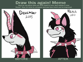 Draw again meme by Goldstar345