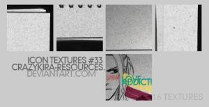 Icon Textures .33 by crazykira-resources