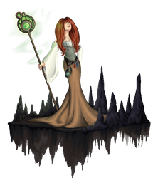 Earth Mage Expanded by PhoeC
