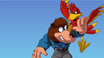 Youtube Thumbnail for my Banjo Kazooie lets play by Obisam