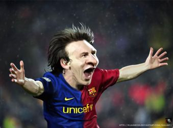 Lionel Messi by KlausBoss