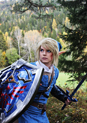 Ready for battle - Blue Link by SophieRiis
