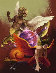 Mythos Duality by WillowEscapee