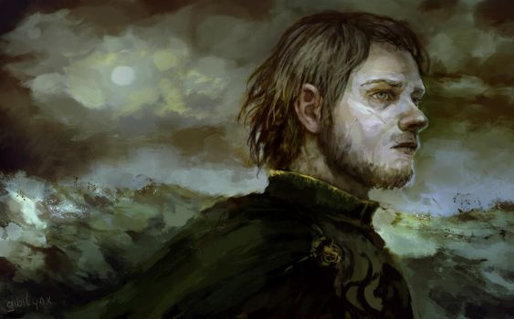 Theon Greyjoy by GibiLynx