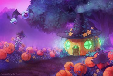 Witch's hut by Haychel