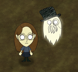 Don't Starve with Avi and Adam by PrettyKitty