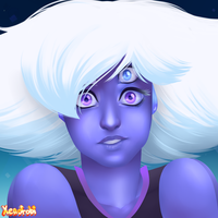 Tanzanite by HeartStringsXIII