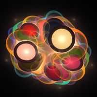 'Light Flame Abstract 182' by SBricker