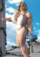 Kelio - Daughter of Heracles by fantasymuscle