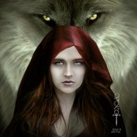 The Lady and the Wolf by vampirekingdom