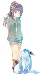 Kanan x Glaceon by Cyphose