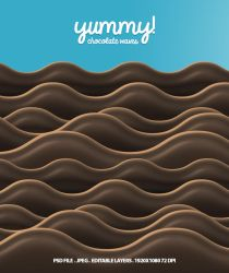 Chocolate Waves! by snmsnl