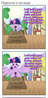 Plagiarism is not Magic by Nevaylin