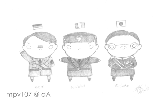 The Axis Powers by mpv107
