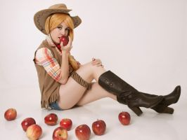 appletastic! - Applejack cosplay by Voldiesama