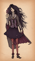 Witch - colored by DonkeyDushan