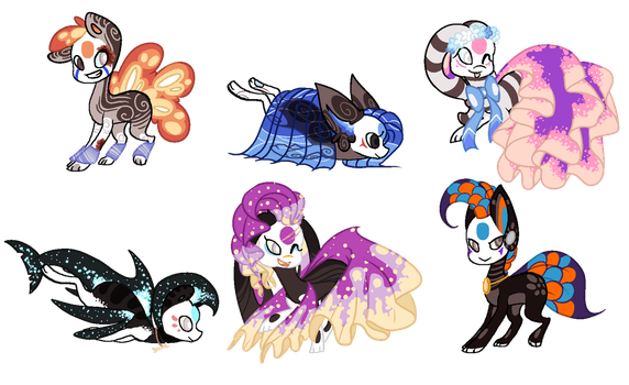 Finnedyr Adopts (26) -5/6 OPEN- by HitMeWithBrokenLeave