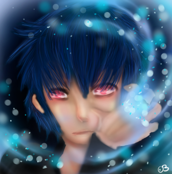 Noct and the Ring of Lucii by KourtDrawz
