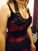 Comm:2012, Corset Dress by Vic-Dustrael