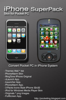 iPhone Theme for Pocket PC by octaviz