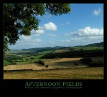 Afternoon Fields by Isquiesque