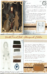 World Travel Book: Entry for the Steampunk Edition by Traumfaengerin-Wish