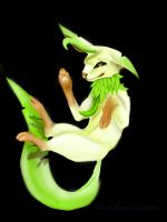 Leafeon's Accidental Mishap by FourClawedCreation
