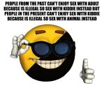 Ancap smiley meme: Next level of inhuman sex by achthenuts