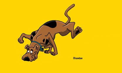 Scooby Doo by chandan1577art