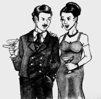 Frank and Sadie Doyle by miss-dapper