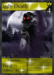 NecroMasters TCG - BOD - 037 - Lady Death by PlayboyVampire