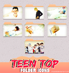 teen top folder icons {REQUEST} reupload~ by stopidd