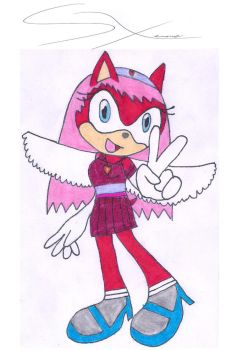 Purpaly The Angelhog for Biekgirl100 by Silverxtreme56