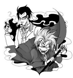 J+H-Dr.Hyde and Mr.Jekyll by GT18