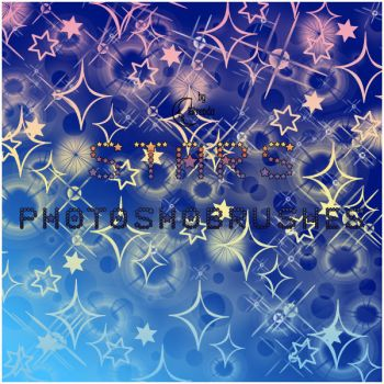 Stars Brushes Photoshop by Coby17