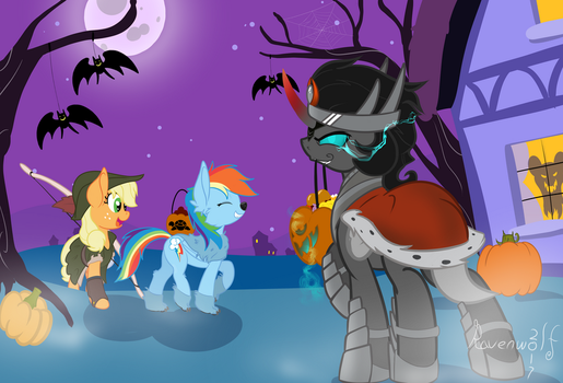 Ravenhoof's First Nightmare Night by Humble-Ravenwolf