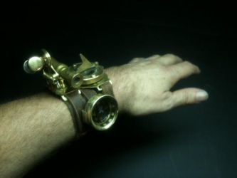 Steampunky Watch 001 by TimBakerFX