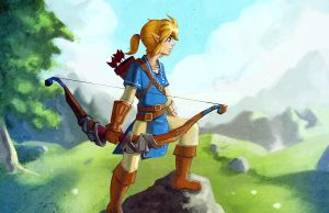 LINK with vista by bishounenizer