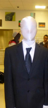Slender man cosplay by Excalibur5k