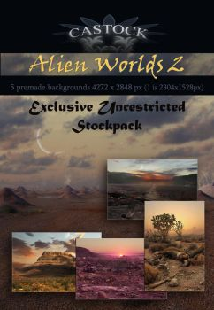 Alien Worlds 2 by CAStock