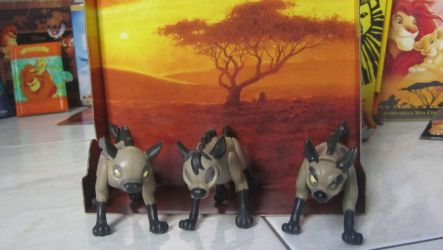TLK collection: Mattel Hyenas Trio by kary218