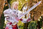 Mordred Saber of Red Fate/Apocrypha cosplay by DrosselTira