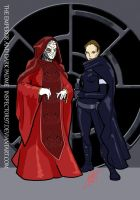 Eps III Emperor and Dark Padme by Inspector97