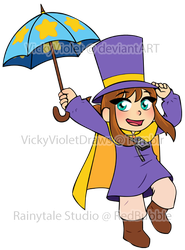 Hat Kid by VickyViolet
